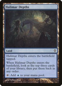 magic the gathering halimar depths