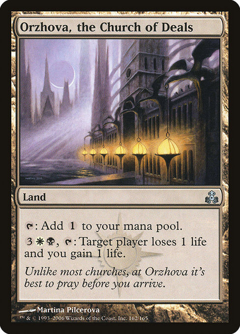 magic the gathering orzhova, the church of deals