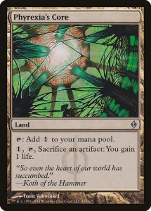 magic the gathering phyrexia's core