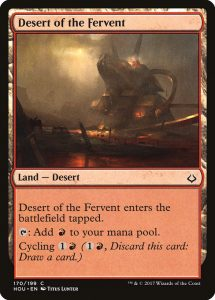 magic the gathering desert of the fervent