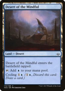 magic the gathering desert of the mindful