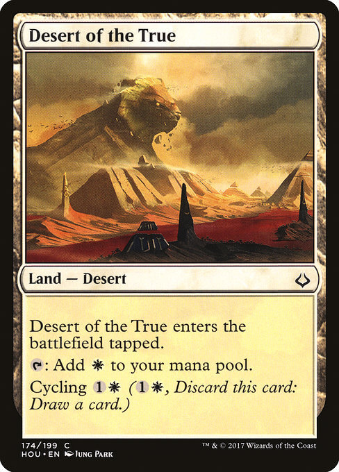 magic the gathering desert of the true