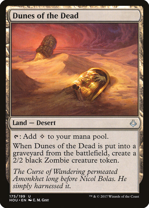 magic the gathering dunes of the dead
