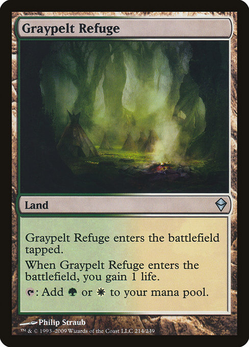 magic the gathering graypelt refuge