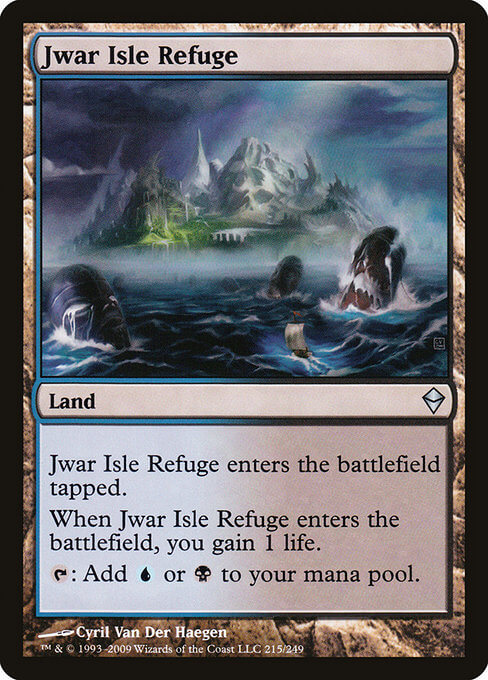 magic the gathering jwar isle refuge