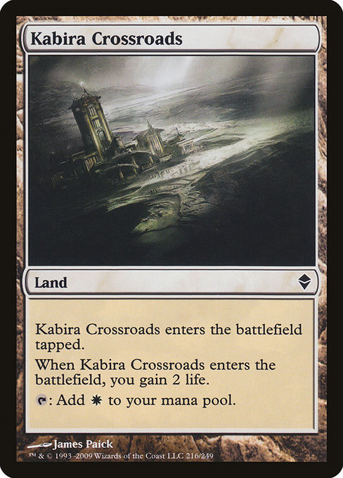 magic the gathering kabira crossroads