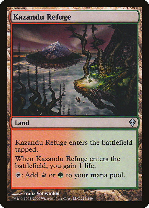 magic the gathering kazandu refuge