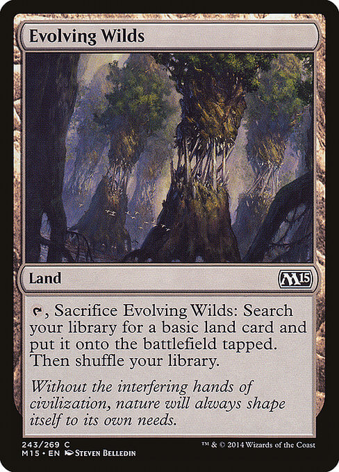 magic the gathering evolving wilds