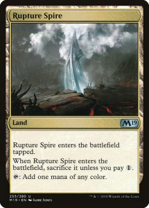 magic the gathering rupture spire