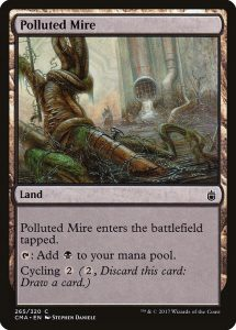 magic the gathering polluted mire