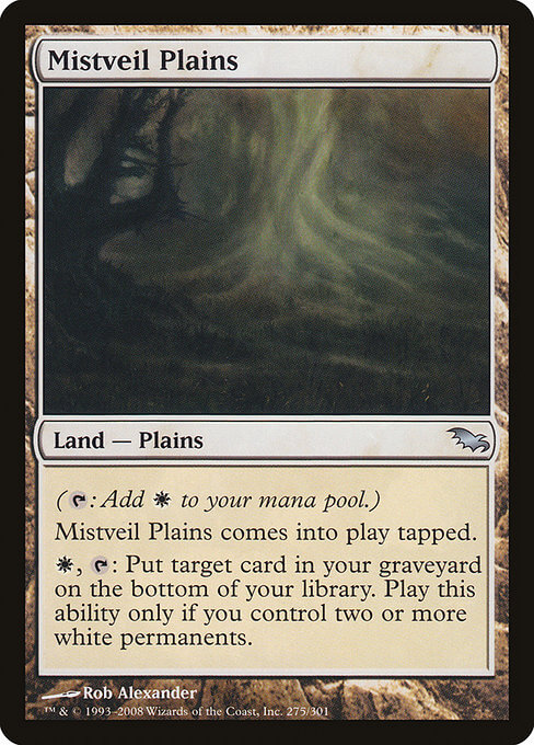 magic the gathering mistveil plains