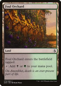 magic the gathering foul orchard