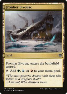 magic the gathering frontier bivouac