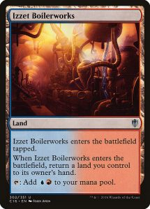 magic the gathering izzet boilerworks