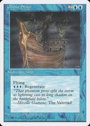 magic the gathering ghost ship