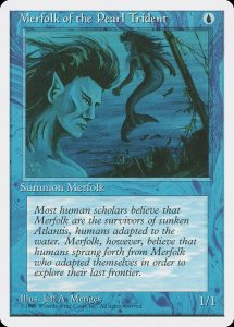 magic the gathering merfolk of the pearl trident