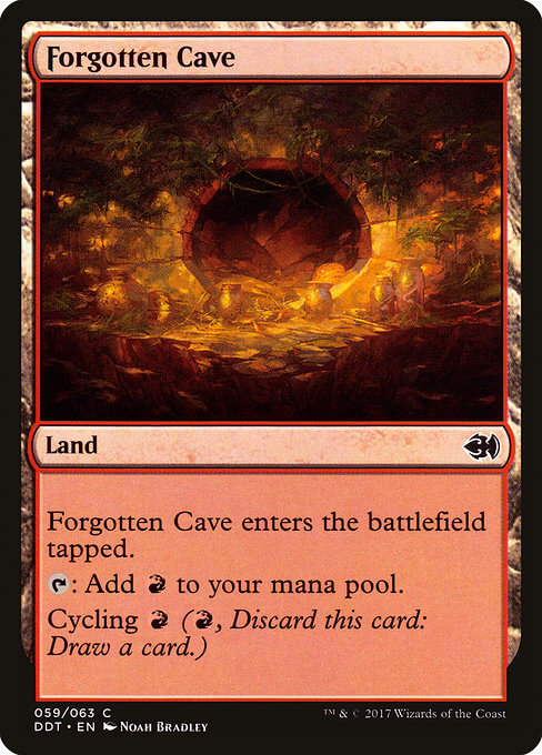 magic the gathering forgotten cave