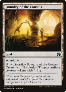 magic the gathering foundry of the consuls