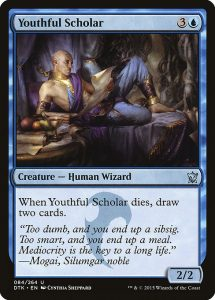 magic the gathering youthful scholar