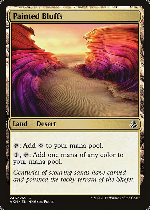 magic the gathering painted bluffs