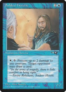 magic the gathering soldevi heretic