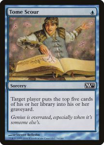 magic the gathering tome scour
