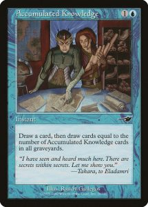 magic the gathering accumulated knowledge