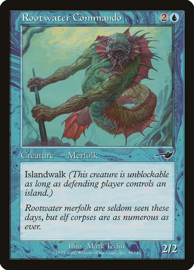 magic the gathering rootwater commando
