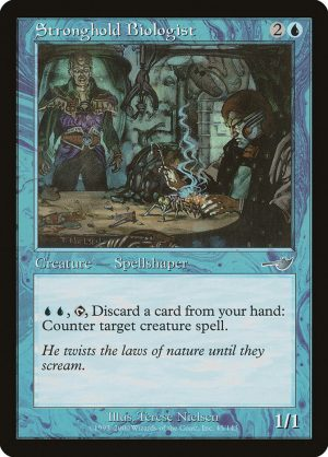magic the gathering stronghold biologist