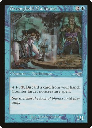 magic the gathering stronghold machinist