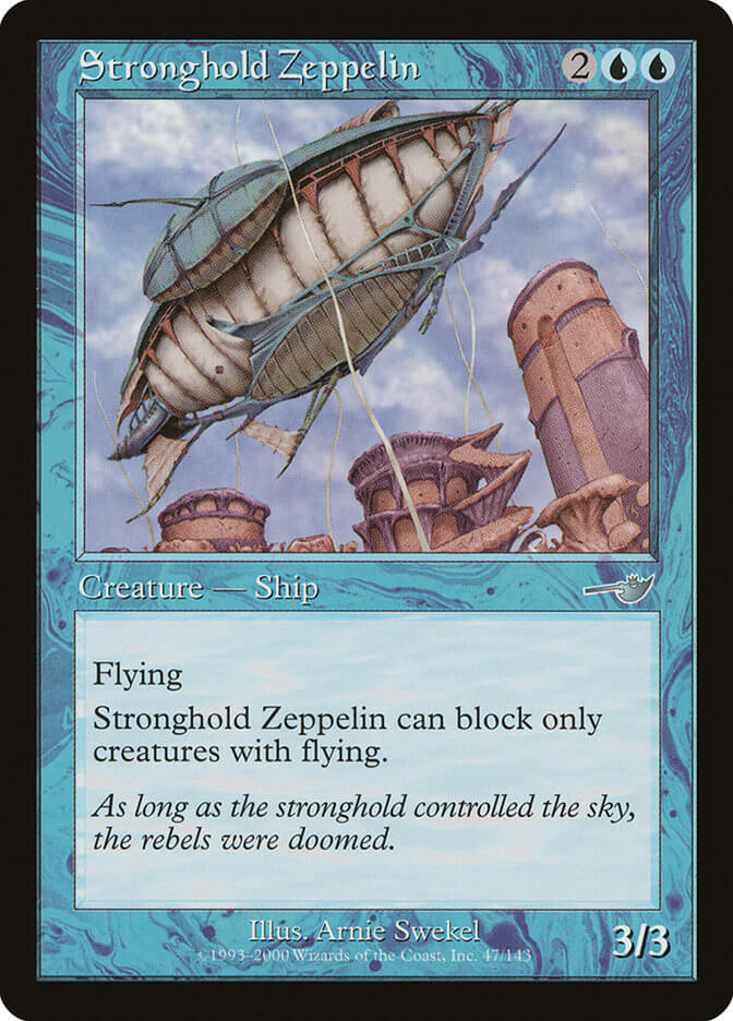 magic the gathering stronghold zeppelin