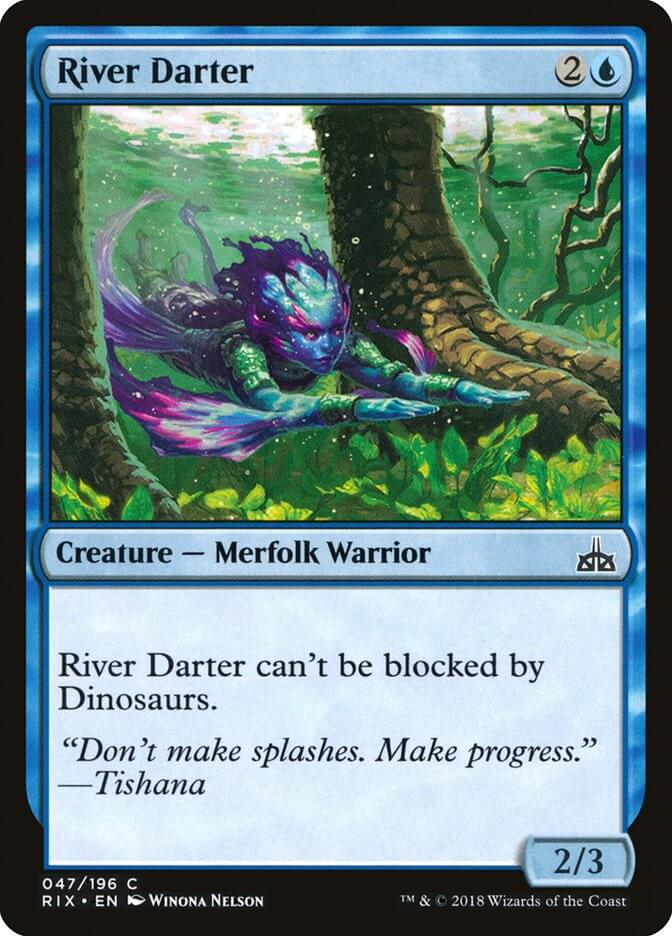 magic the gathering river darter
