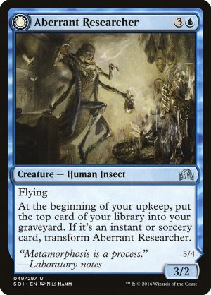 magic the gathering aberrant researcher