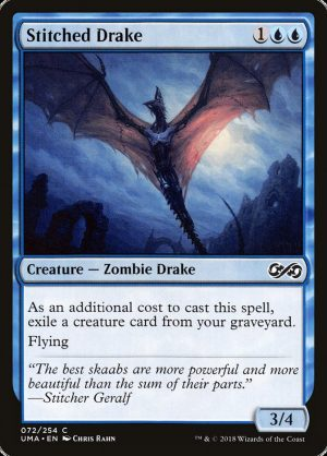 magic the gathering stitched drake